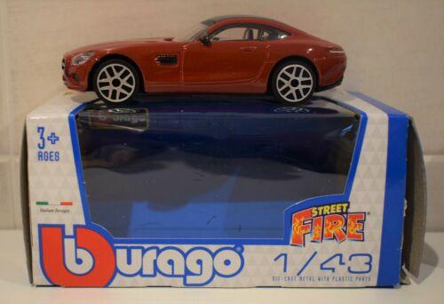 BURAGO DIECAST 1//43 MERCEDES AMG  VW VOLKSWAGEN POLO RED Or 2009 NISSAN GT-R