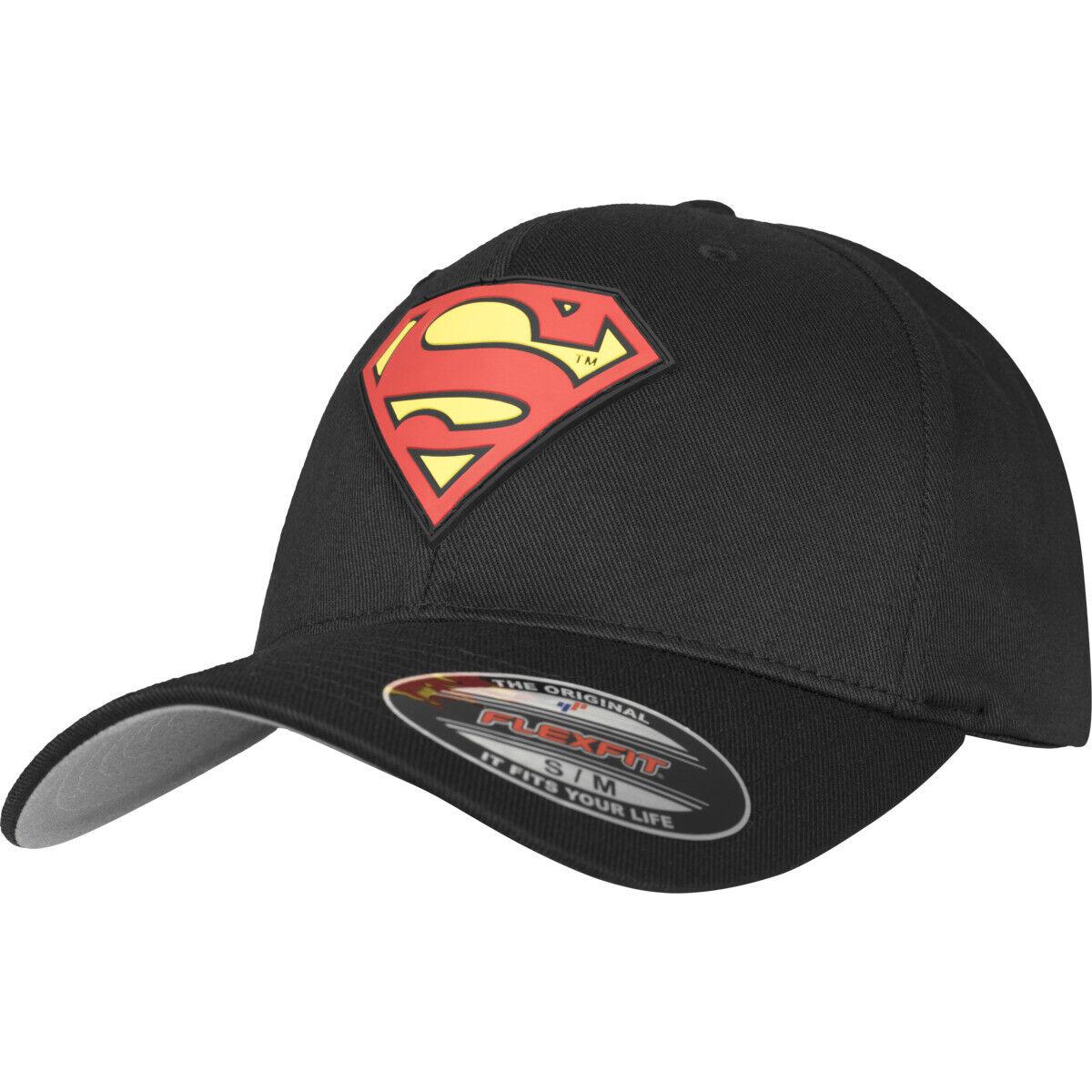 Superman Flexfit Cap Hero Universe Baseball Stretch Curved Dc Logo