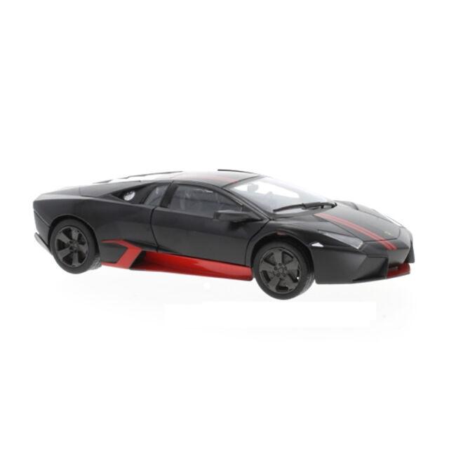Motormax 79509 Lamborghini Reventon Matte Black Scale 1 24 Model Car