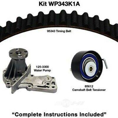 Engine Timing Belt Kit with Water Pump-Water Pump Kit W//o Seals fits Fiesta 1.6L