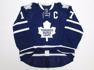 CLARK TORONTO MAPLE LEAFS AUTHENTIC HOME TEAM ISSUED REEBOK EDGE 2.0 7287 JERSEY