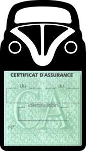 Etui vignette assurance auto cox beetle coccinelle Volkswagen Stickers rétro - France - État : Neuf: Objet neuf et intact, n'ayant jamais servi, non ouvert. Consulter l'annonce du vendeur pour avoir plus de détails. ... Marque: SAR - France