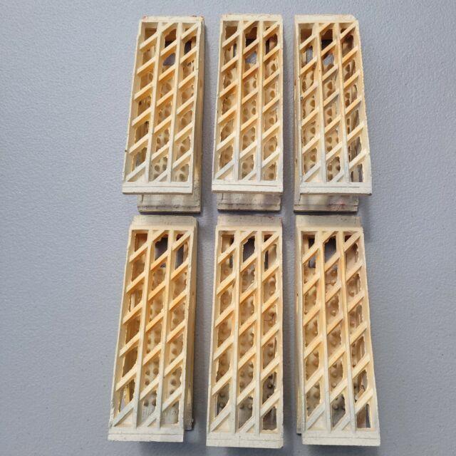 Vintage Gas heater Radiant Ceramic Bricks Grates