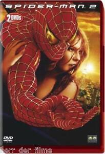 SPIDER-MAN 2 (Tobey Maguire, Kirsten Dunst) 2 DVDs NEU+OVP