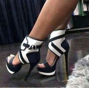 Heels Sandals High Thin Heel Fashion Women Platform Sexy New ONk0X8nPw