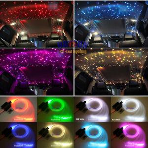 New car led ceiling light rgb w fiber optic star kit rgbw light image is loading new car led ceiling light rgb w fiber aloadofball Images
