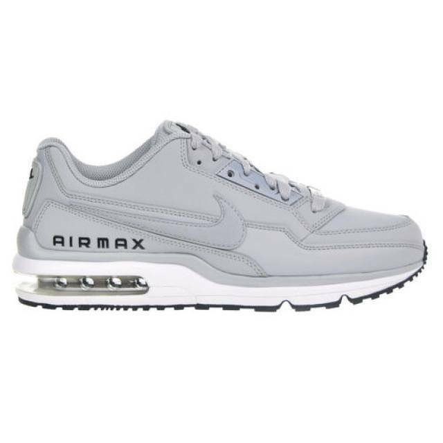 the best attitude 91b9d 24db7 Nike Air Max Ltd 3 Mens 687977-015 Wolf Grey Leather Running Shoes Size 11  for sale online   eBay