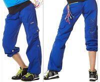 Zumba Cargo Pants - Converts To Capri - Hip Hop Convention Harrods - Rare S M L
