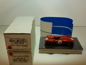 HECO-MODELES-203-FERRARI-625-LM-1956-12-RED-1-43-VERY-RARE-EXCELLENT-IN-BOX