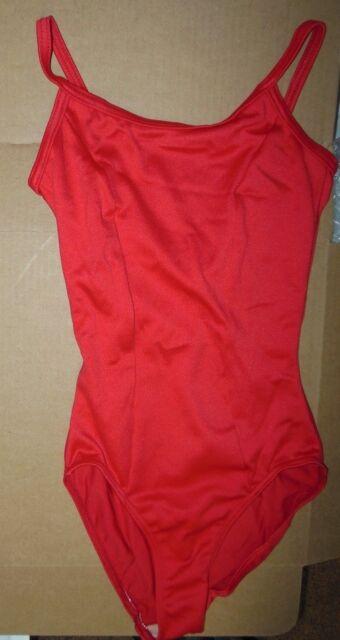 NWT Camisole Leotard Frontlined  child//ladies v back ballet #86001 14 COLORS