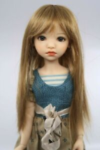 Monique-PEGGY-SUE-Wig-Lt-Ginger-Bld-Size-8-9-SD-BJD-shown-on-My-Meadow-HANNAH