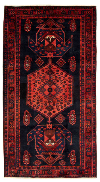 "Hand-knotted Turkish Carpet 4'3"" x 8'2"" Caucasus Kula Traditional Wool Rug"