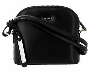 PICARD-Berlin-Shoulder-Bag-Umhaengetasche-Schultertasche-Tasche-Black-Schwarz-Neu