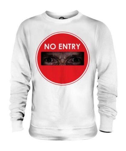 No Entry Zombie Unisexe Pull Cadeau Apocalypse Drôle