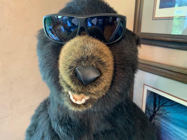 Yamba Polarvue Grey Satin Black Lens Frame Fitovers Eyewear Sunglasses