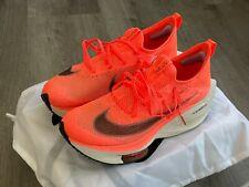 Nike Air Zoom Alphafly Next% - Bright Mango - mens size 9