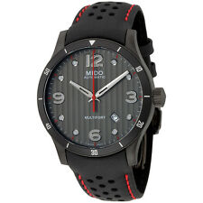 Mido Multifort Black Dial Automatic Men's Watch M0254073606100