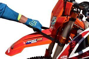 KTM-Enduro-Correas-de-elevacion-Set-adelante-y-atras-en-varios-colores-universal