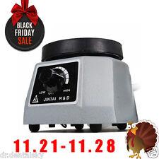 "Dental Lab Oscillator 4"" Round Shaker Heavy Duty Platform Vibrator Equipmen G0FL"
