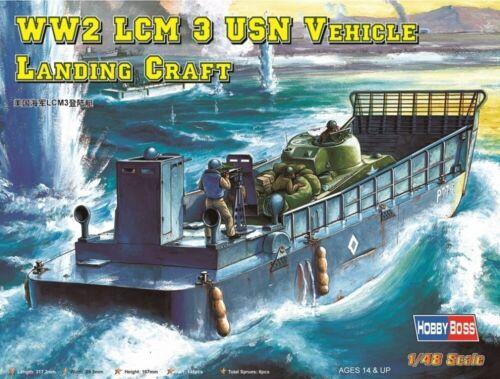 HBB84817 Hobbyboss 1:48 LCM-3 USN Vehicle Landing Craft