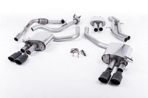 Milltek-Cat-Back-System-Black-Oval-Audi-S5-B9-3-0T-V6-Sportback-Sport-Diff