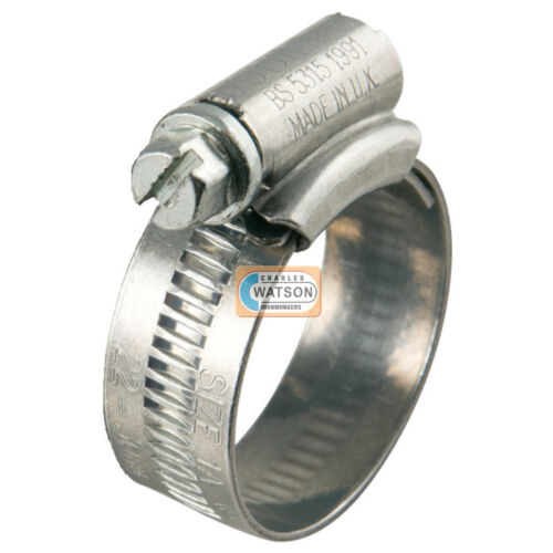 Genuine JUBILEE Clip 6X 120-150mm Hose Fuel Clamp Worm Drive Petrol Pipe Line