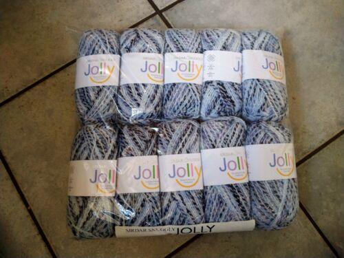 4mm dk 500g Sirdar perfectamente Jolly bebé hilado de lana 150 Cosmo Azul Gris Crema