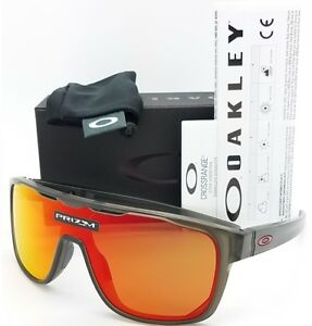 f843049096f91 Image is loading NEW-Oakley-Crossrange-Shield-sunglasses-Grey-Prizm-Ruby-