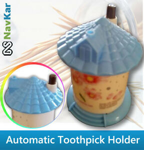 Automatic-Toothpick-Holder-High-Quality-House-Shaped-Toothpick-Holder