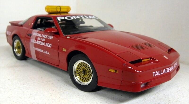 vertlight échelle 1 18 12859 1987 pontiac gta Tailledega Tailledega Tailledega 500 pace diecast voiture modèle fc7f48