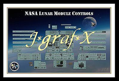 NASA MERCURY GEMINI /& APOLLO PATCHES REPRO; MOON POSTER VERY COOL ARTWORK!!!