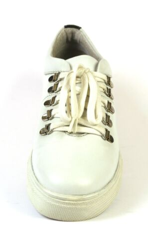 Le ® shoe Company 13132971 sneaker hommes taille 42-46 Neuf Cuir Blanc