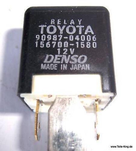Relais Toyota  90987-04006 Denso 156700-1580 ***