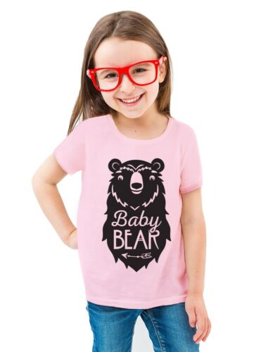 Baby Bear Cute Gift Little Girl Boy Sibling Family Infant Girls/' Fitted T-Shirt