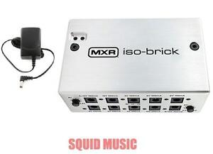 mxr iso brick m238 power supply w dc cables 18v adapter 10 isolated outputs ebay. Black Bedroom Furniture Sets. Home Design Ideas