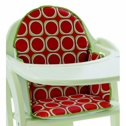 """/""""WATERMELON/"""" RED Cushion Seat Insert Pad for Baby Babies Wooden High Chair NEW"""
