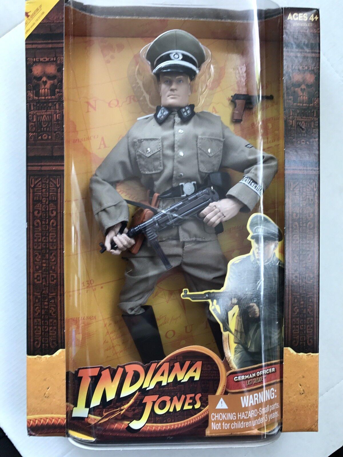 Indiana jones action - figur der deutschen offizier.