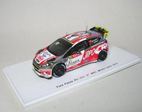 Ford Fiesta RS WRC nº 21 9th rally monte carlo 2012