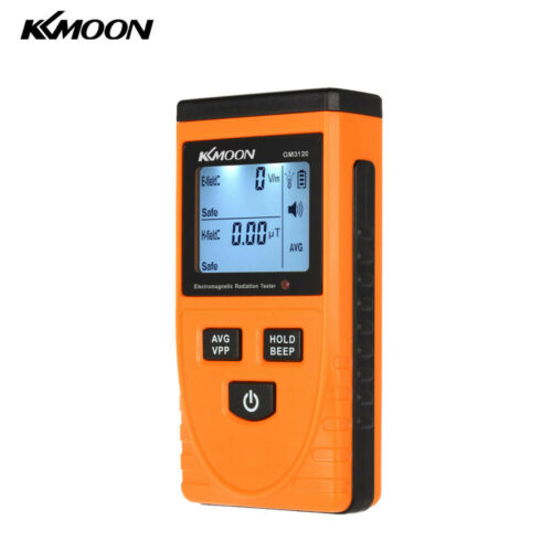 KKmoon Digital Electromagnetic Radiation Detector Meter Dosimeter Counter