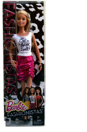 """Fashionistas /""""Be Yourself/"""" Barbie Doll CFG12"""