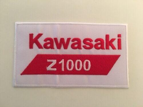 A322 PATCH ECUSSON MOTO JAPON K Z 1000 12*6,5 CM