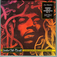 JIMI HENDRIX-6xCD BOXSET-LIVE IN SCANDINAVIA Vol 2-Ltd.Ed To 2000- NEW & SEALED.