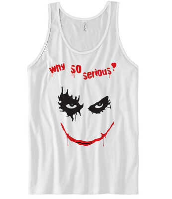 Why so serious vest | joker batman funny hype t-shirt sleeveless 0173