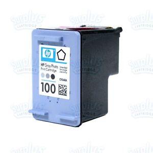 Genuine-HP-100-Gray-Photo-Ink-C9368A-B8330-D5360-C4180-D5069-D5160-C5570-C5500
