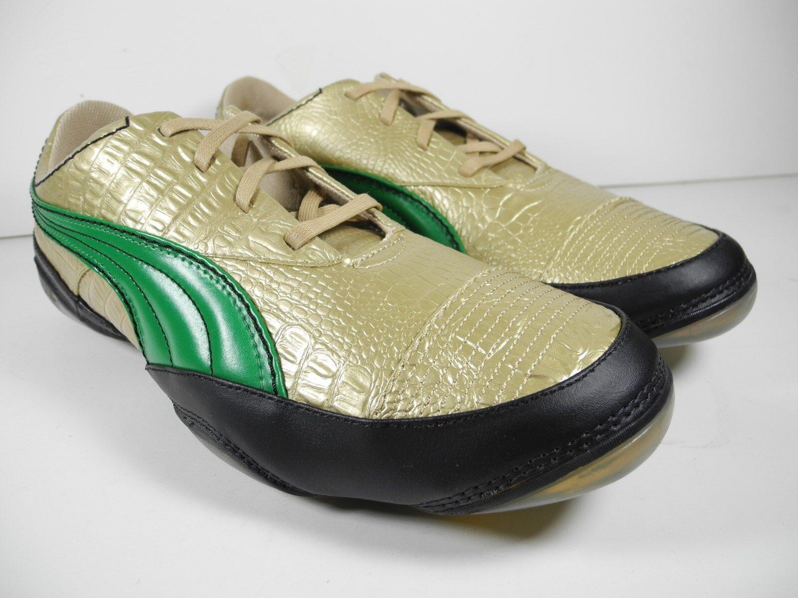 371fe378f7590 ... NEW Puma USAN METALLIC CROC CROC CROC Men s Shoes Size US 11.5 62825c  ...