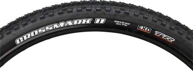 Maxxis Crossmark II 29x2.25 Tire 60tpi  Dual Compound EXO Casing Tubeless Folding  trendy