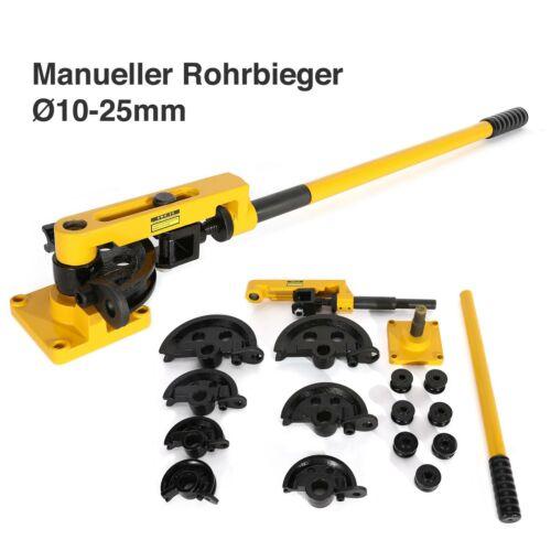Rohrbieger Rohrbiegegerät Rohrbiegemaschine Handrohrbieger Ø10 Ø25mm Manuell