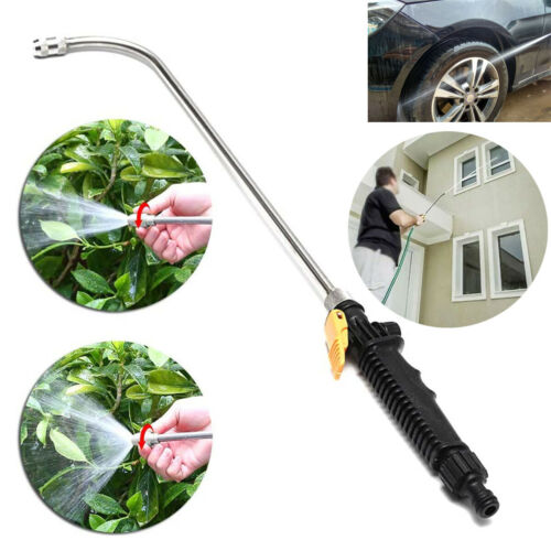 High Pressure Power Car Window Water Washer Wand Nozzle Spray Gun Flow Controls