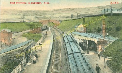 Caerphilly Heath 5 Llanishen Railway Station Photo Cardiff Line.