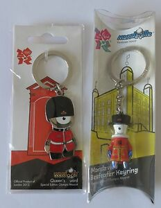 Shop For Cheap London Olympics 2012 Wenlock Queens Guard Metal Key Ring Without Return Sports Memorabilia